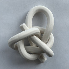 Load image into Gallery viewer, Bare porcelain, manger knot