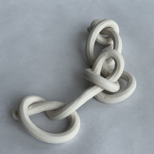 Bare Porcelain Knot Chain