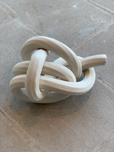 Load image into Gallery viewer, Bare porcelain, halyard bend knot