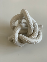 Load image into Gallery viewer, Spiked, porcelain manger knot