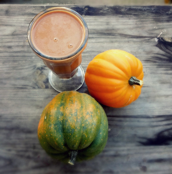 Chocolate Covere Pumpkin Smoothie