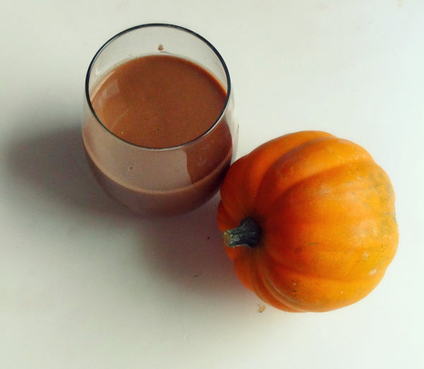 Chocolate covered pumpkin smoothie 2