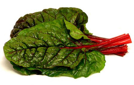 Organic Chard (Swiss) Red - Bunch