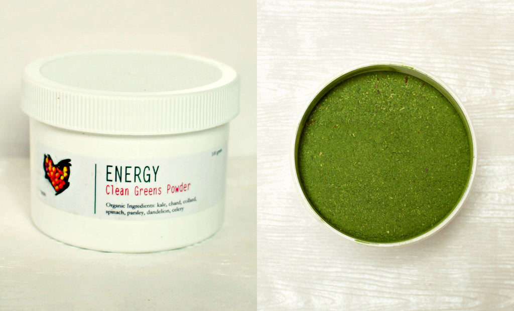 Wanigan Greens Powder - ENERGY 100g