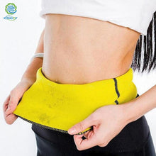 Load image into Gallery viewer, Slimming Warps Women Shaper Abdominal Weight Loss Belt Sweat Sauna Neoprene Body Shaper Belt Hot Shapers Waist Trainer Waistband