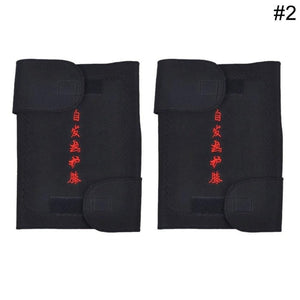 1 Pair Therapy Health Care Spontaneous Fever Kneepad Magnetic Joint Tourmaline Self Heating Knee Warming Exercise Kneepad