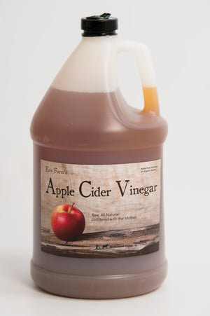 Artisan, Raw Apple Cider Vinegar (1 Gal. Plastic)