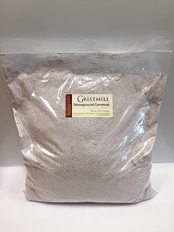 Load image into Gallery viewer, Homestead Gristmill — Organic, Non-GMO, Stone-ground Blue Cornmeal (10 lbs)