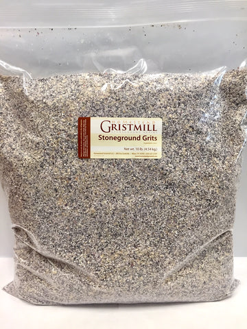 Homestead Gristmill — Organic, Non-GMO, Stone-ground Blue Corn Grits (10 lb)