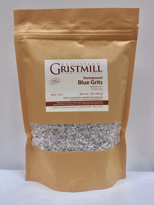 Stone-ground Blue Corn Grits (2 Pack)
