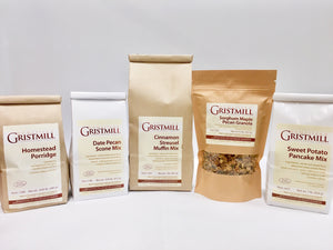Homestead Gristmill — Non-GMO Homestead Breakfast Variety Pack (With Porridge)