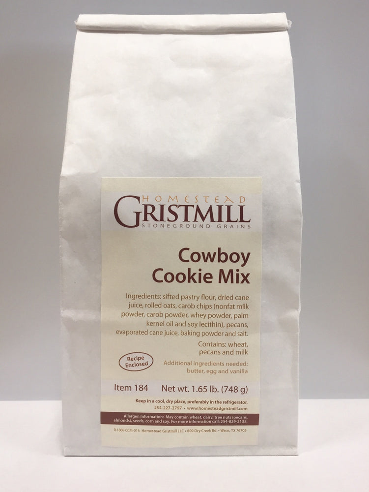 Homestead Gristmill — Non-GMO Cowboy Cookie Mix (2 Pack)
