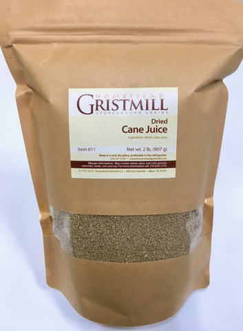 Homestead Gristmill — Dried Cane Juice (2 Pack)