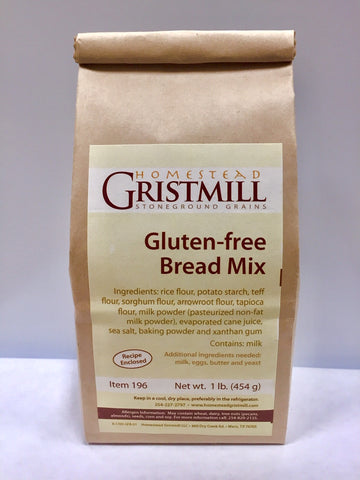 Homestead Gristmill — Non-GMO Gluten-Free Bread Mix (2 Pack)