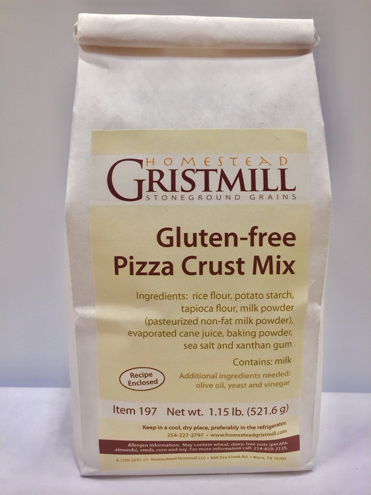 Homestead Gristmill — Non-GMO Gluten-Free Pizza Crust Mix (2 Pack)