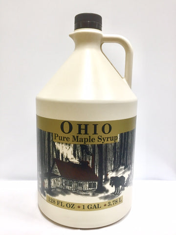 1 Gallon Grade A, Pure Ohio Maple Syrup