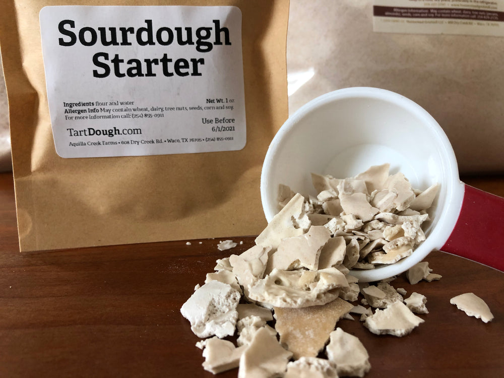 Homestead Gristmill — Dehydrated Sourdough Starter Packet