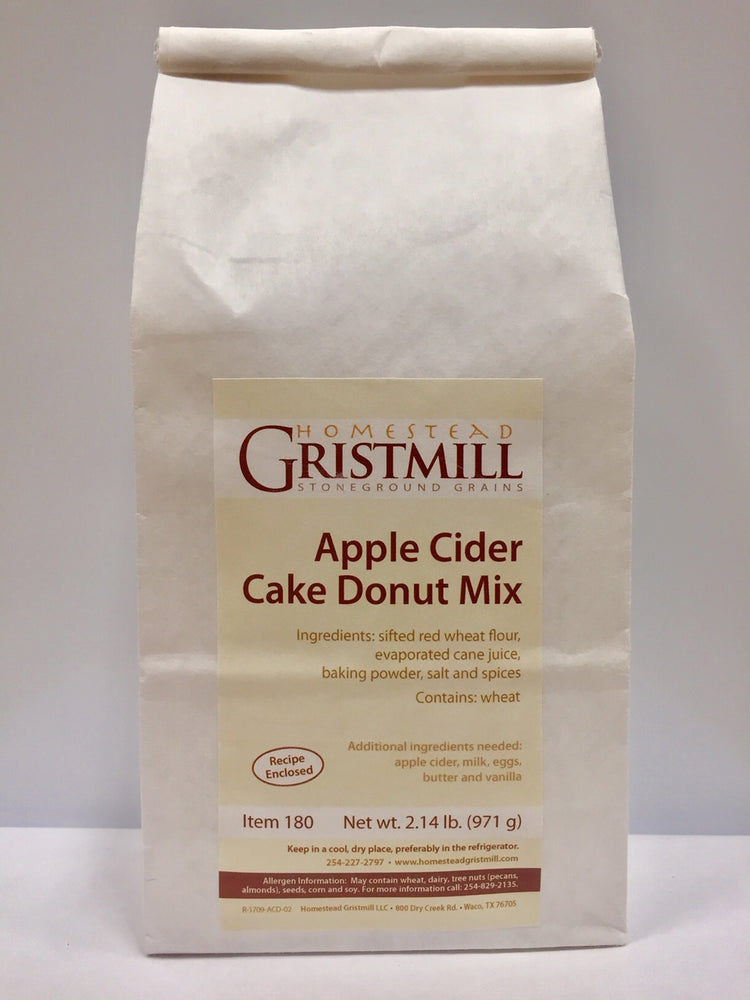 Homestead Gristmill — Non-GMO Apple Cider Donut Mix (2 Pack)