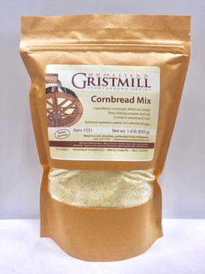 Homestead Gristmill — Non-GMO Cornbread Mix (2 Pack)