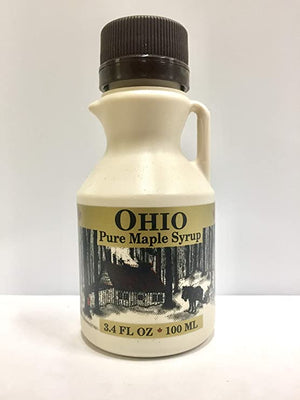 3.4 Fl. Oz. Grade A, Pure Ohio Maple Syrup (2 Pack)