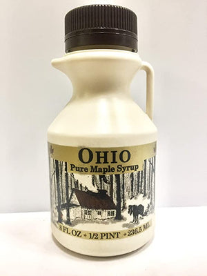 1/2 Pint Grade A, Pure Ohio Maple Syrup (2 Pack)