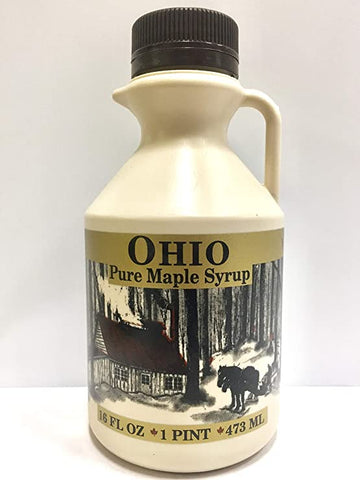 1 Pint Grade A, Pure Ohio Maple Syrup