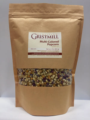 Homestead Gristmill — Non-GMO Multi-Colored Popcorn (2 Pack)