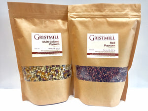 Load image into Gallery viewer, Homestead Gristmill — Non-GMO Multi-Colored Popcorn/ Red Popcorn (2 Pack)