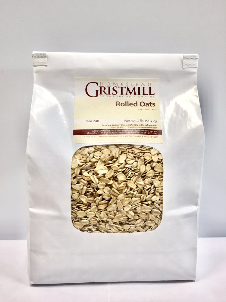 Load image into Gallery viewer, Homestead Gristmill — Organic, Non-GMO Rolled Oats (2 Pack)