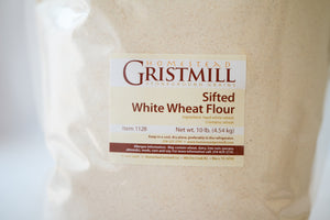 Homestead Gristmill — Stoneground Sifted White Wheat Flour Milled from Certified Organic Wheat