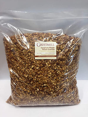 Load image into Gallery viewer, Homestead Gristmill — Non-GMO Sorghum Maple Pecan Granola (10 lb)