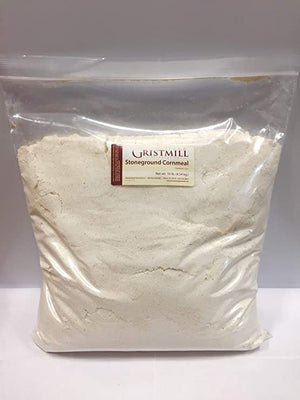 Homestead Gristmill — Organic, Non-GMO, Stone-ground White Cornmeal (10 lbs)