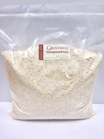 Homestead Gristmill — Organic, Non-GMO, Stone-ground White Corn Grits (10 lb)