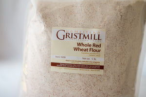 Homestead Gristmill — Stoneground Whole Red Wheat Flour Milled from Certified Organic Wheat