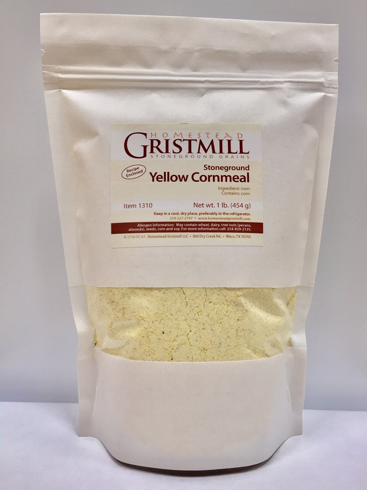 Load image into Gallery viewer, Homestead Gristmill — Organic, Non-GMO, Stone-ground Cornmeal Variety 5-Pack (2 WCm, 2 YCm, 1 BCm)