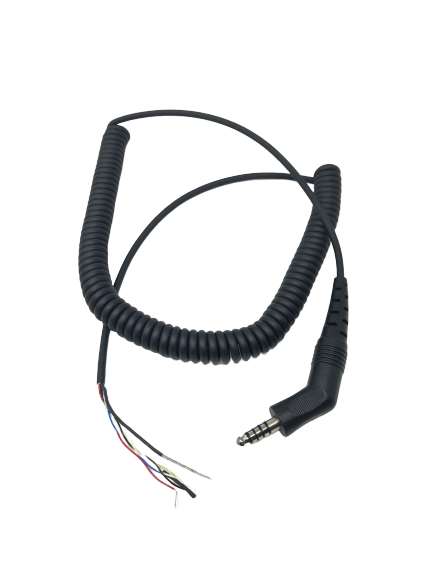 Firecom Coiled Comm Cable