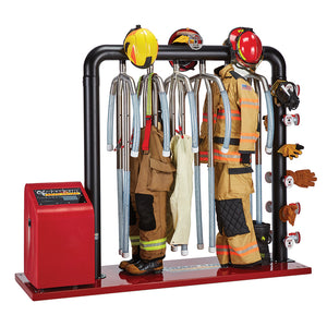 Ram Air 6 Unit Ambient and Heated Air Turnout Gear Dryer