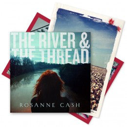 The River & The Thread - Signed Deluxe Edition CD with Set of Postcards (2014)