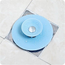 Load image into Gallery viewer, Press Type Silicone Sink Strainers, Kitchen Bathroom Anti-Clogging Sink Filter Sundry Catchers Floor Drain Cover