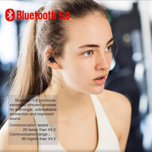 🔥Limited Time Free shipping🔥 - Touch Control Wireless Bluetooth Waterproof Earbuds