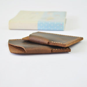 Men Retro Mini Wallet /Money Id Credit Cards Holder Case