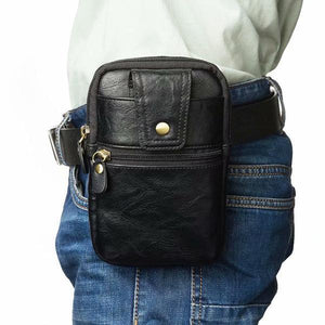 Universal Double Zip Waist Bag