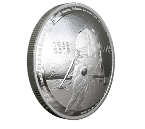 (HOT SALE!!!)Pure Silver Coin - 50th Anniversary of the Apollo 11 Moon Landing