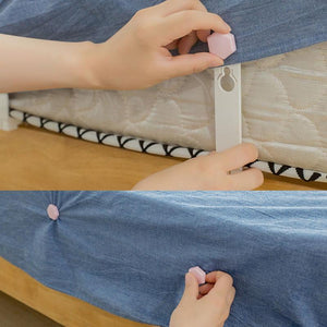 Bed Sheet Clip Holder(One Set of 4 PCS)Buy 2 Get 1 for Free!(Add 3 to Cart to Get the 3rd for Free)