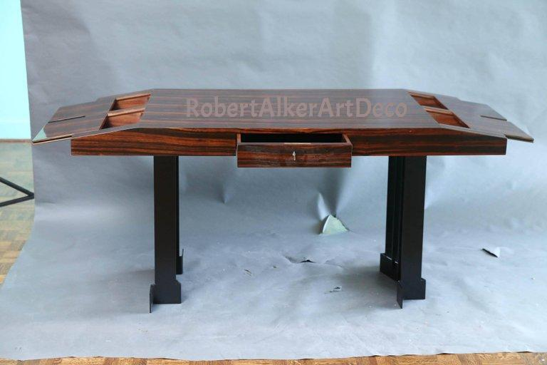 Art Deco French Desk in Palisander