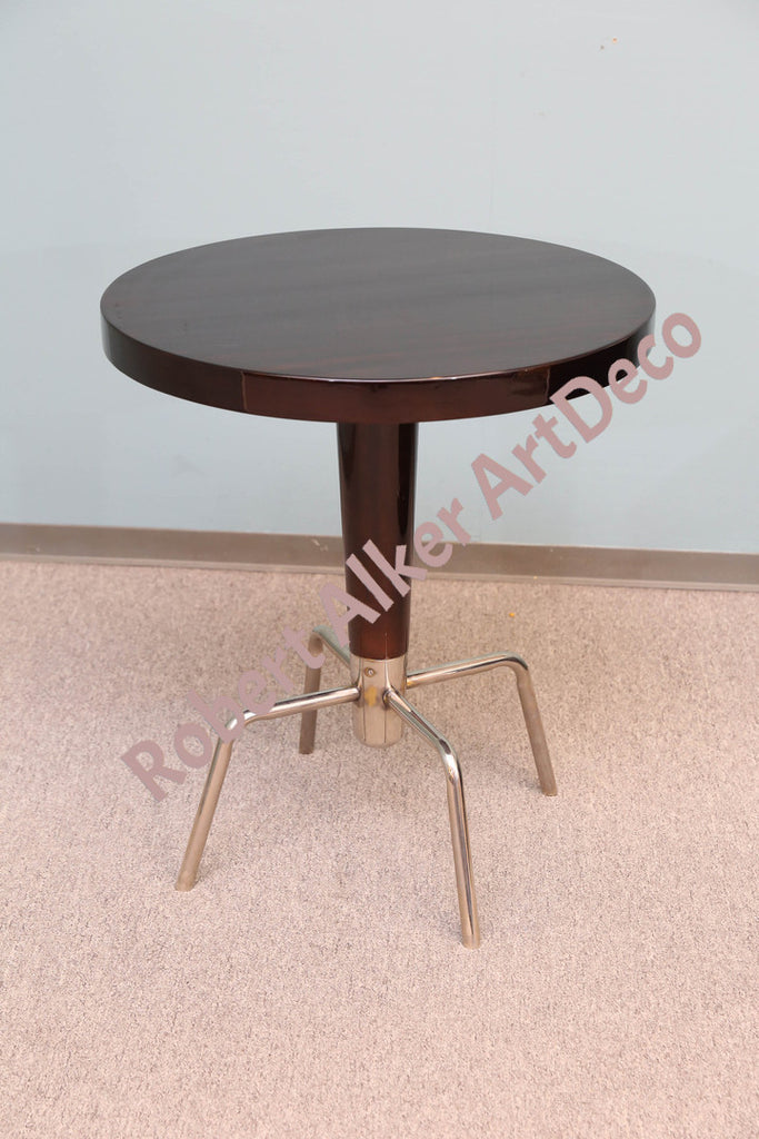 A Pair of Round Side Tables