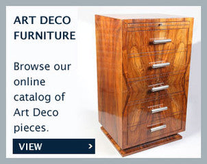 Art Deco Furniture Robert Alker