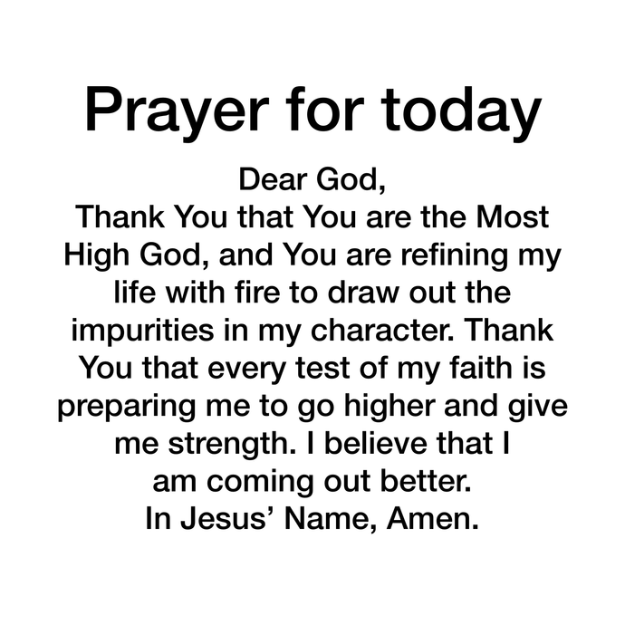 Prayer Day 106
