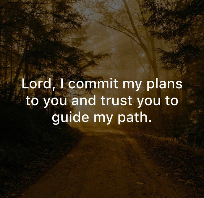 Guide my path