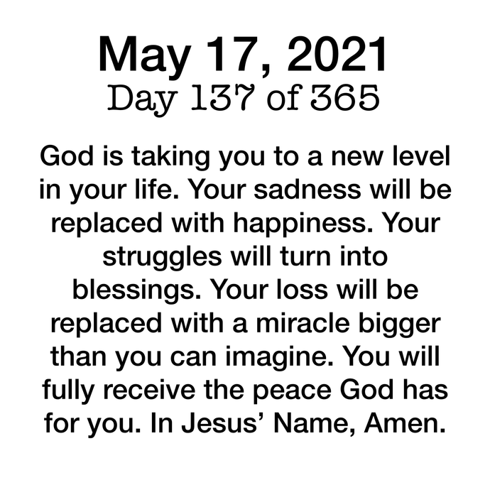 Devotional Day 137